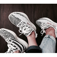 Adidas Yeezy 550 Boost 350 V2 Retro Fashion Women Men Casual Sport Running Shoe Sneakers Grey White