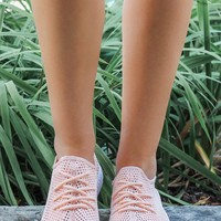 Rally Sneakers - Light Coral