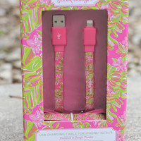 Lilly Pulitzer USB Charging Cord - Jungle Tumble