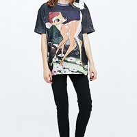 Eleven Paris Bambi Art Tee - Urban Outfitters