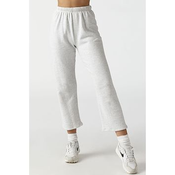 Fitted Zeppelin Pant - Grey