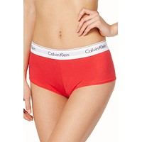 Calvin Klein Evocative Red Modern Cotton Boy-Short