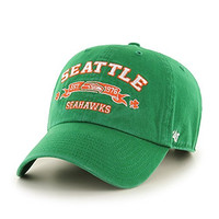 NFL Seattle Seahawks Relaxed Fit Retro St. Patty's Embroidered Cap by '47