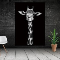 Top selling animal canvas painting Wall Pictures for Living Room Art Decoration Pictures No Frame morden print