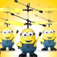 High quality Mini RC Helicopter Despicable Me 2 Minion Helikopter Remote Control Toys Aircraft Model Toy Children Kids Boy Toys