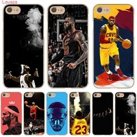 Lavaza LeBron James Hard Phone Case for Apple iPhone X 10 8 7 6 6s Plus 5 5S SE 5C 4 4S Cover Coque Shell
