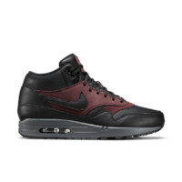 Nike Air Max 1 Mid Deluxe Men's Shoe Size 7.5 (Black)