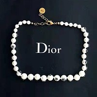 Dior Classic Fashion Women Pearl Necklace Jewelry Accessories