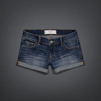 Gilly Hicks Low Rise Denim Shorts