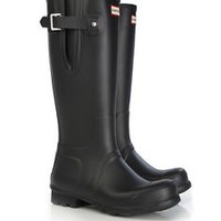 HUNTER ORIGINAL SIDE ADJUSTABLE BOOTS Welly Navy, Black, Red BRAND NEW NWT