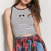 Striped Mickey Mouse Top