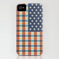 Plaid Flag. iPhone Case by Nick Nelson | Society6