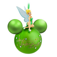 disney parks tinker bell signature ball christmas ornament new with tags