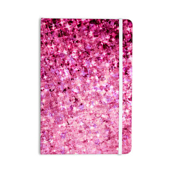 "Ebi Emporium ""Romance Me"" Pink Glitter Everything Notebook"