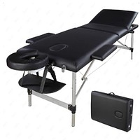 EDGE Mobility Trifold Portable Aluminum Massage Table - The Perfect Home, CashPT, GymPT or spare table!