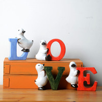 Resin Gifts Home Romantic Decoration = 5893293185