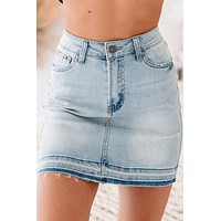 Last Resort Denim Skirt (Denim)