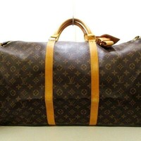 Auth LOUIS VUITTON Keepall Bandouliere 60 M41412 Monogram Canvas VI8910