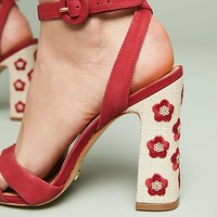 Vicenza Flower-Spotted Heels