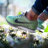 Nike Flyknit Racer Rainbow Casual Running Sport Shoes Sneakers 2