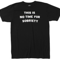 Altru Apparel No Time For Sobriety tee