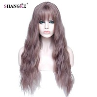 "26"" Long Mix Purple Women's Wigs"