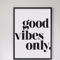 Inspirational Quote Canvas Painting Poster Unframed