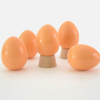 Modern CHAMSGEND Toys for Children Wooden ultra realistic simulation of eggs Graffiti toys Kids Kitchen Drop Shipping H44