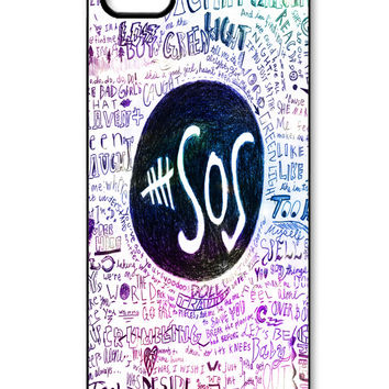 5 Second Of Summer logo quote iPhone 5/5s Case