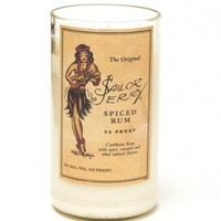 (1) Sailor Jerry® 20 oz Candle With Wick - Bottle Heaven