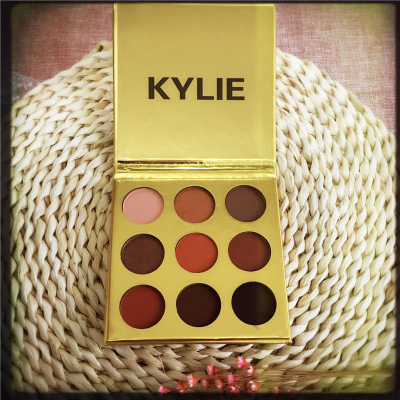 Image of Golden kylie eye shadow kelly 9 color kyshadow