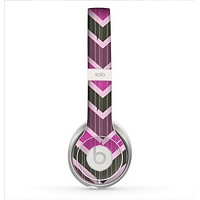 The Scratched Vintage Chevron Surface Skin for the Beats by Dre Solo 2 Headphones