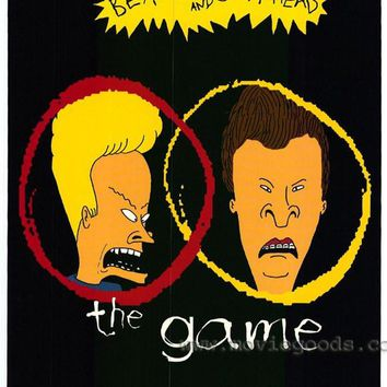 Beavis and Butthead Do America 11x17 Movie Poster (1996)