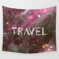 Travel Wall Tapestry by Cafelab