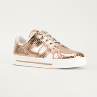 Marc By Marc Jacobs Python Textured Sneakers