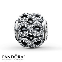 Pandora Essence Charm Clear CZ Sterling Silver