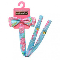 Simply Southern Sunglass Bow Retainer - Roses