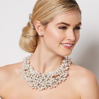 Floral Display Necklace | Jewelry - RSVP Special Occasion | charming charlie