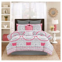 Gemma 8 Piece Medallion Comforter Set