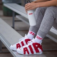 Best Sale Online Nike Air More Uptempo White Red