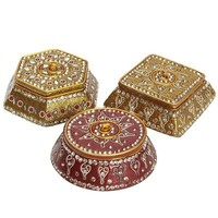 Lacquered Jewel Boxes