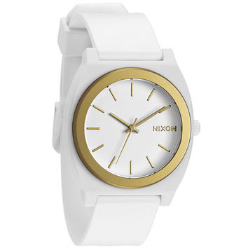Nixon The Time Teller P Watch White/Gold Ano One Size For Men 20651415001