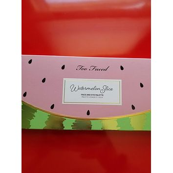 Too Faced Watermelon Slice Face & Eye Palette ❤️ Authentic