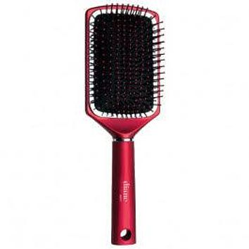 Diane Royal Satin 13-Row Large Square Paddle Brush