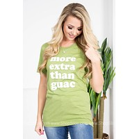 More Extra Than Guac | Green | Vintage Soul