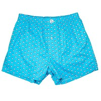Skipjack Boxers in Turquoise by Southern Tide