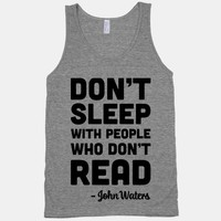 Don't Sleep With People Who Don't Read