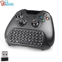 2.4G Mini Wireless Keyboard for Xbox one Controller Keyboard Text Messenger Chatpad Keypad Adapter for Xbox One Game Controller