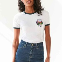Truly Madly Deeply Park Badge Ringer Tee