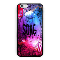 One Direction Best Song Galaxy iPhone 6 Case